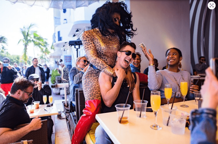 Palace Bar's Drag Brunch Named One of OpenTable's Top 100 in America