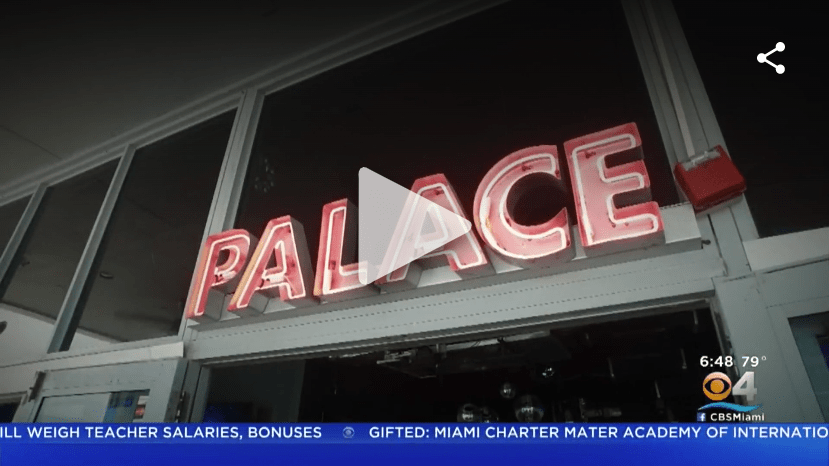 Taste Of The Town: Miami Beach's Iconic Palace Bar Is Back And Better Than Ever